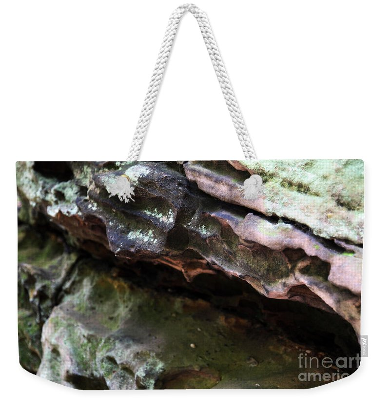 Mountainous Weekender Tote Bag featuring the photograph Thoughts by Amanda Barcon