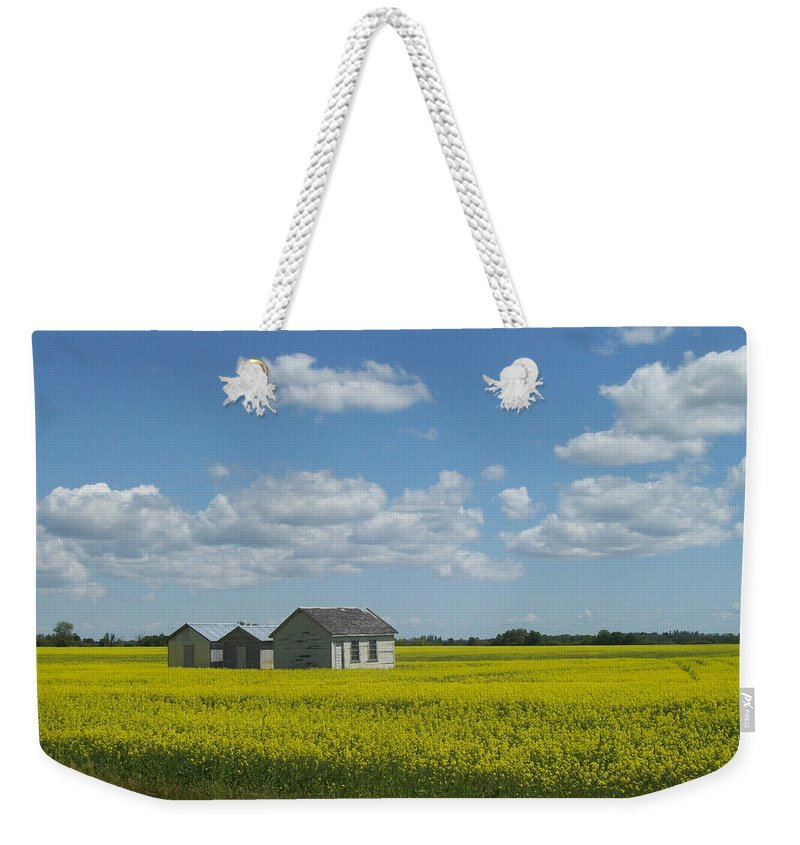 Nature Weekender Tote Bag featuring the photograph Three Of A Kind by Mary Mikawoz