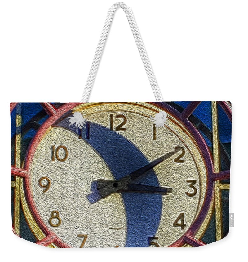 Painterly Photography Weekender Tote Bag featuring the photograph Three Ten To Sacramento by Bill Owen