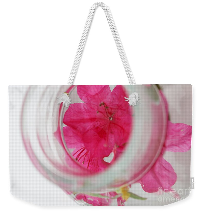 through The Looking Glass Weekender Tote Bag featuring the photograph Through The Looking Glass by Amanda Barcon