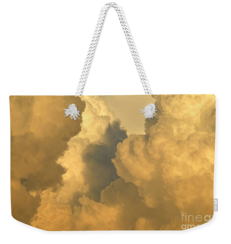 Clouds Weekender Tote Bag featuring the photograph Thunder Heads by David Lee Thompson