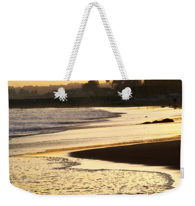 Tidal Weekender Tote Bag featuring the photograph Tidal Sunset by Marilyn Hunt