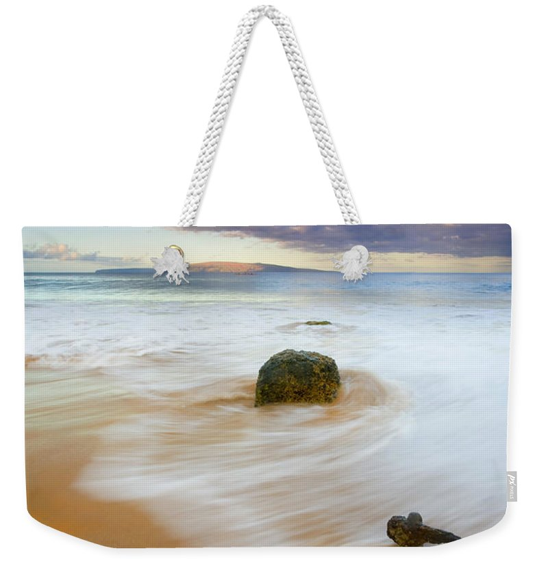Maui Weekender Tote Bag featuring the photograph Tied To The Past by Mike Dawson