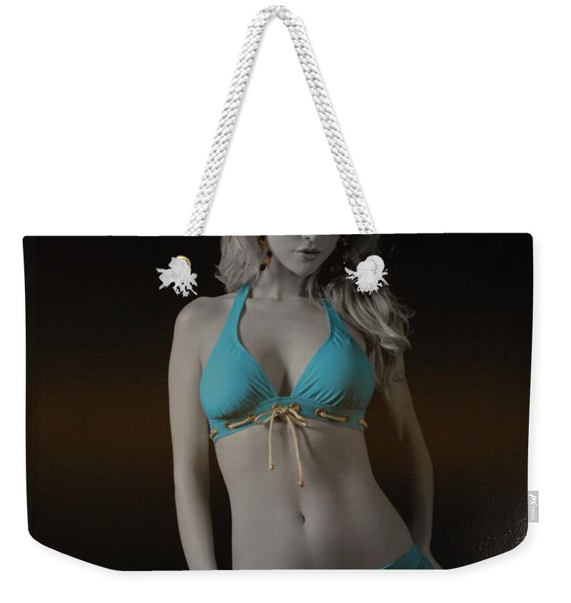 Sexy Weekender Tote Bag featuring the photograph Tiffany Blue by Rob Hans
