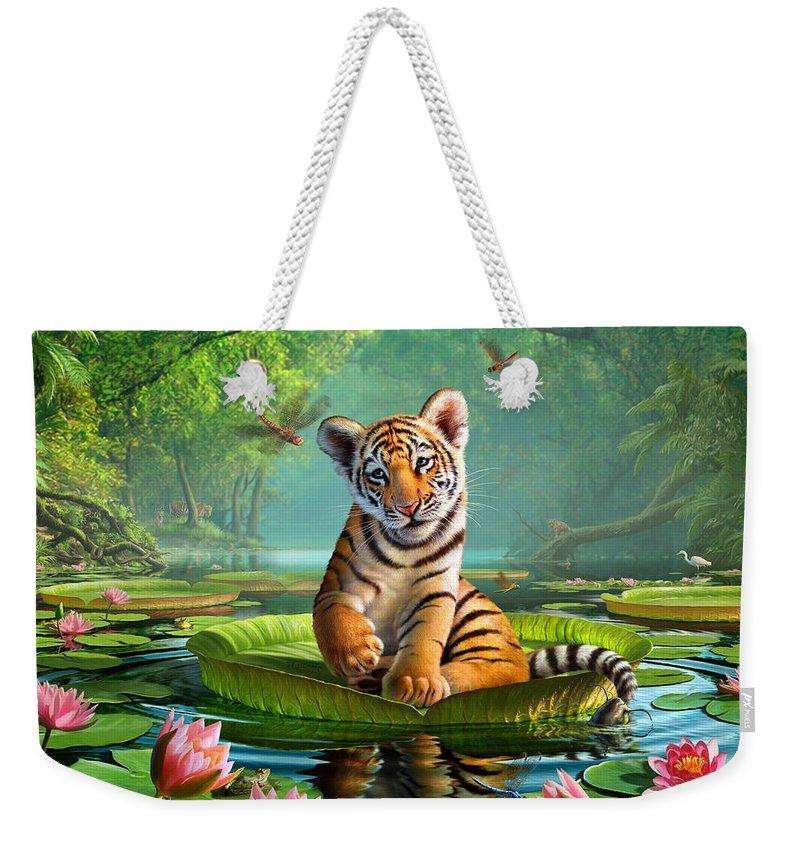 Catfish Weekender Tote Bags