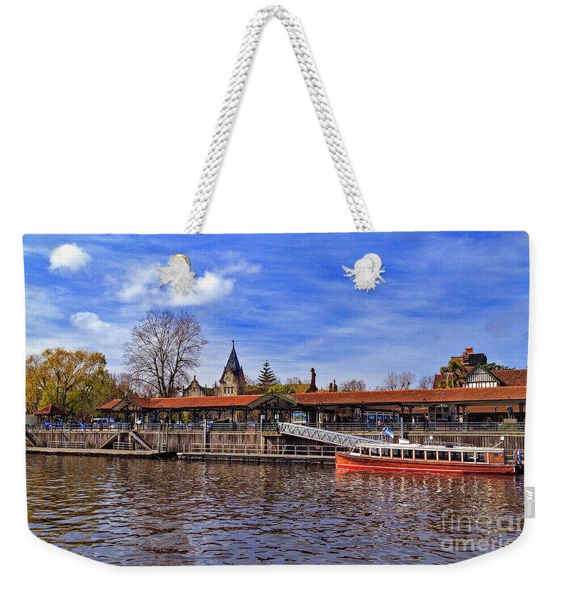 Weekender Tote Bag featuring the photograph Tigre Delta 009 by Bernardo Galmarini