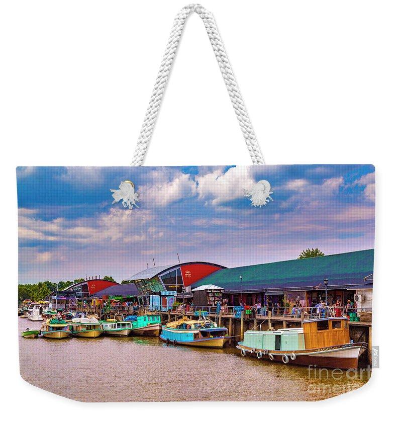 Weekender Tote Bag featuring the photograph Tigre Delta 011 by Bernardo Galmarini