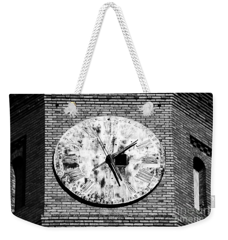 Time Weekender Tote Bag featuring the photograph Time by David Lee Thompson
