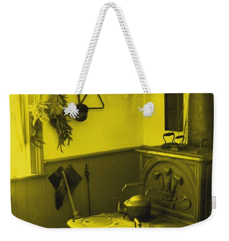 Iron Weekender Tote Bag featuring the photograph Time For A New Kitchen by Ian MacDonald