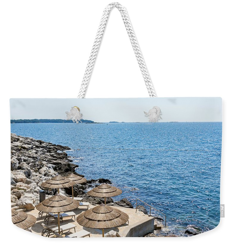 Bay Weekender Tote Bag featuring the photograph Time For Relaxation by Svetlana Sewell