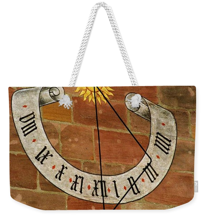 Europe Weekender Tote Bag featuring the photograph Time ... by Juergen Weiss