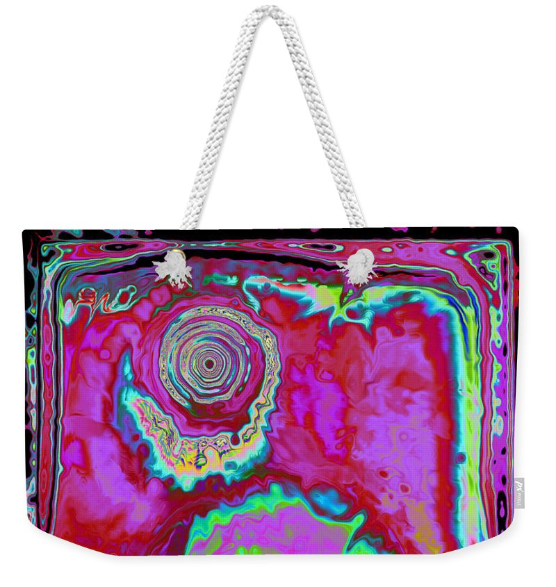 Fantasy Weekender Tote Bag featuring the digital art Time Slip by Roxy Riou