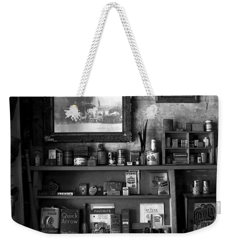 Antics Weekender Tote Bag featuring the painting Time Standing Still by David Lee Thompson