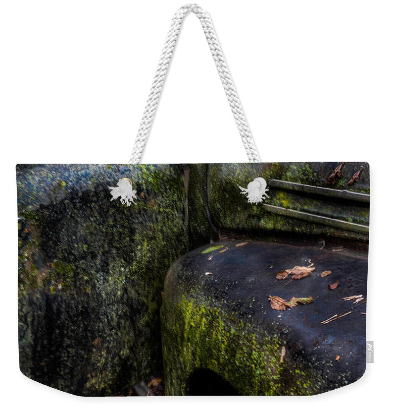 Metal Weekender Tote Bag featuring the photograph Time Travel by Randy Walton