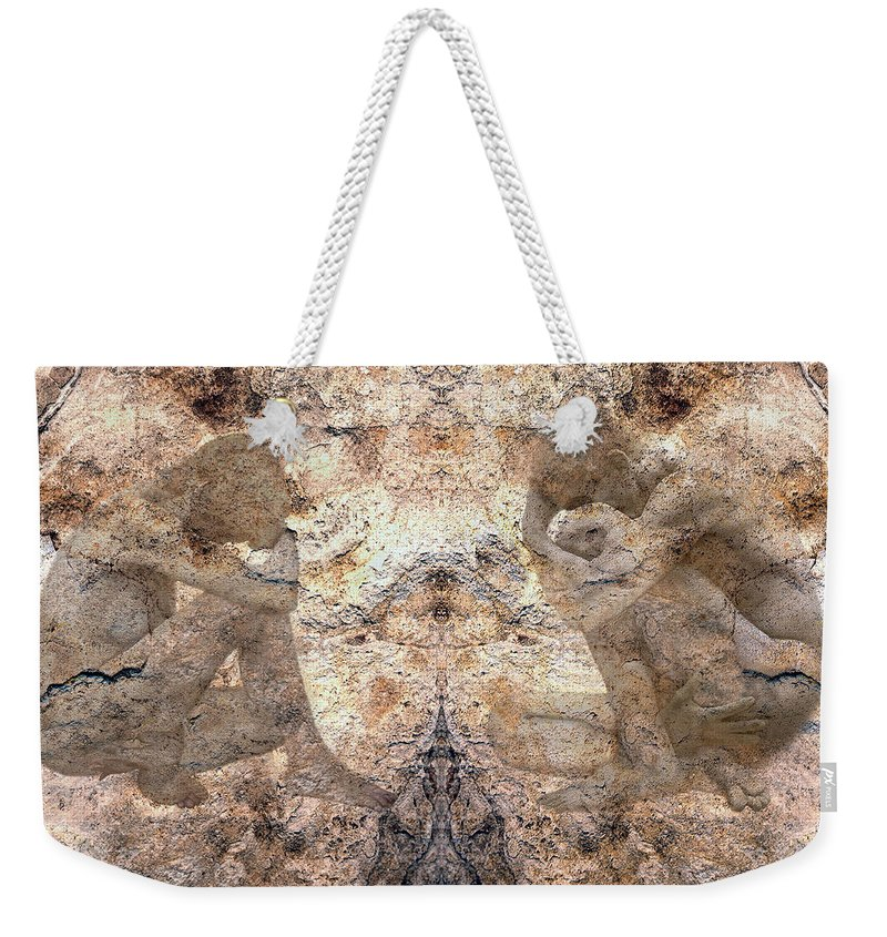 Nudes Weekender Tote Bag featuring the photograph Timeless by Kurt Van Wagner