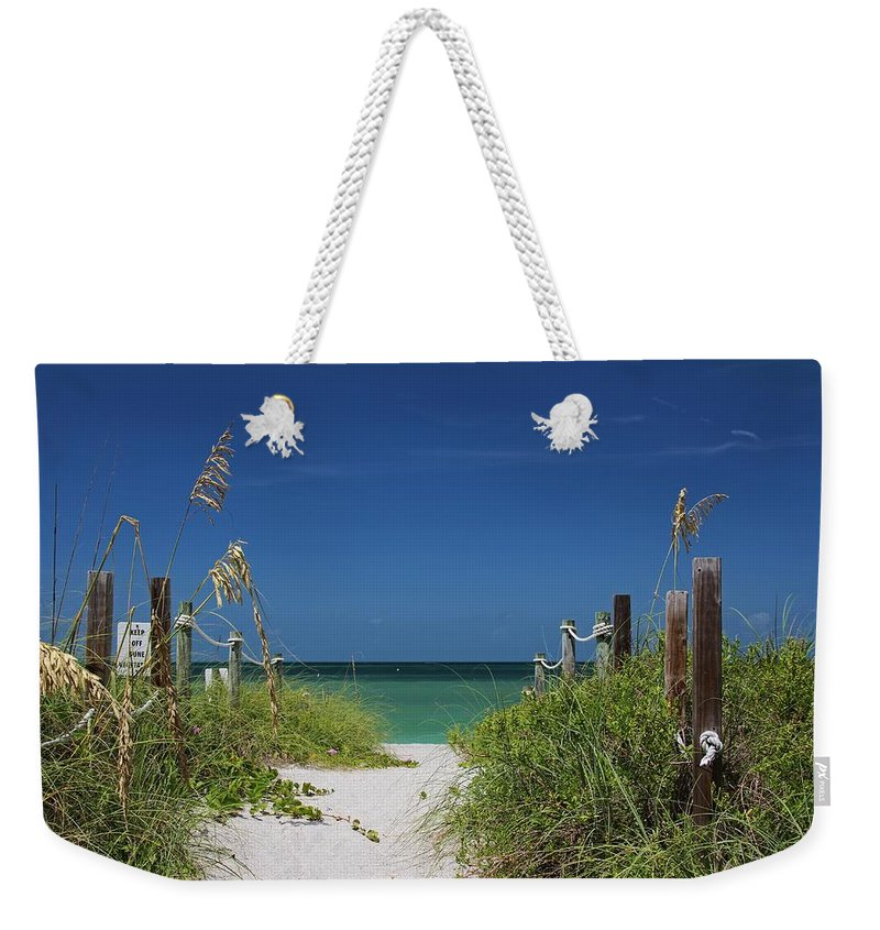 Beach Weekender Tote Bag featuring the photograph Timeless Scandal by Michiale Schneider
