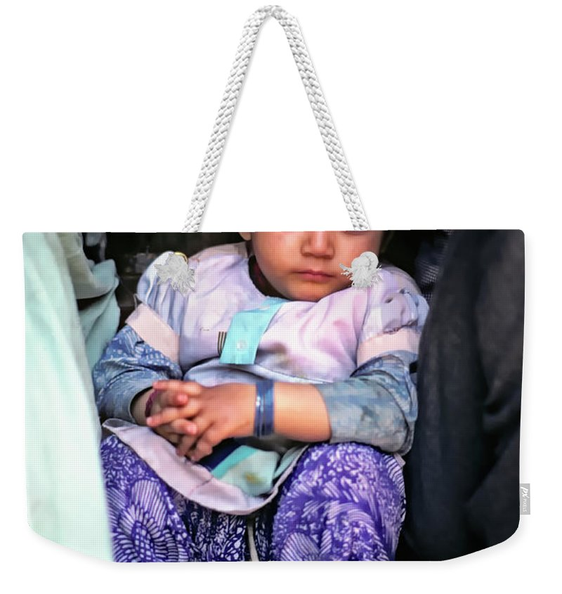 India Weekender Tote Bag featuring the photograph Tiny Tinkler by Steve Harrington