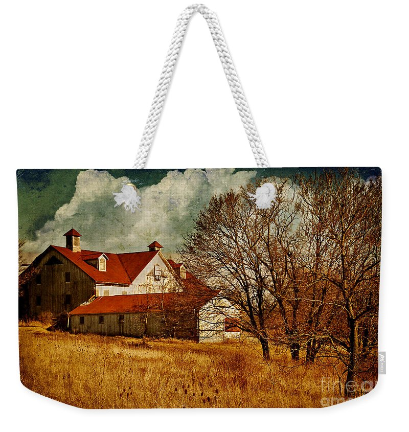 Barns Weekender Tote Bag featuring the photograph Tired by Lois Bryan