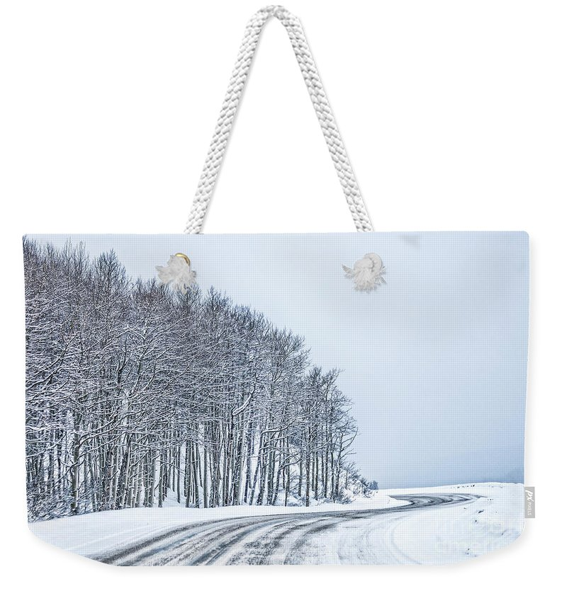 Kremsdorf Weekender Tote Bag featuring the photograph To Another Horizon by Evelina Kremsdorf