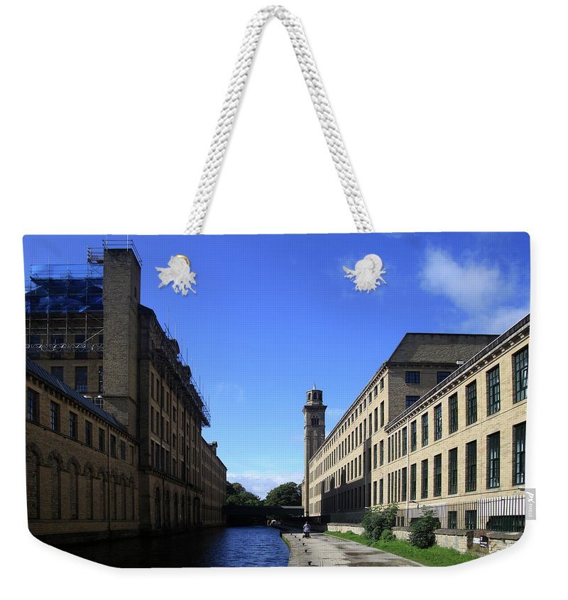 Weekender Tote Bag featuring the photograph To Be Able To Feel Calm by Jez C Self