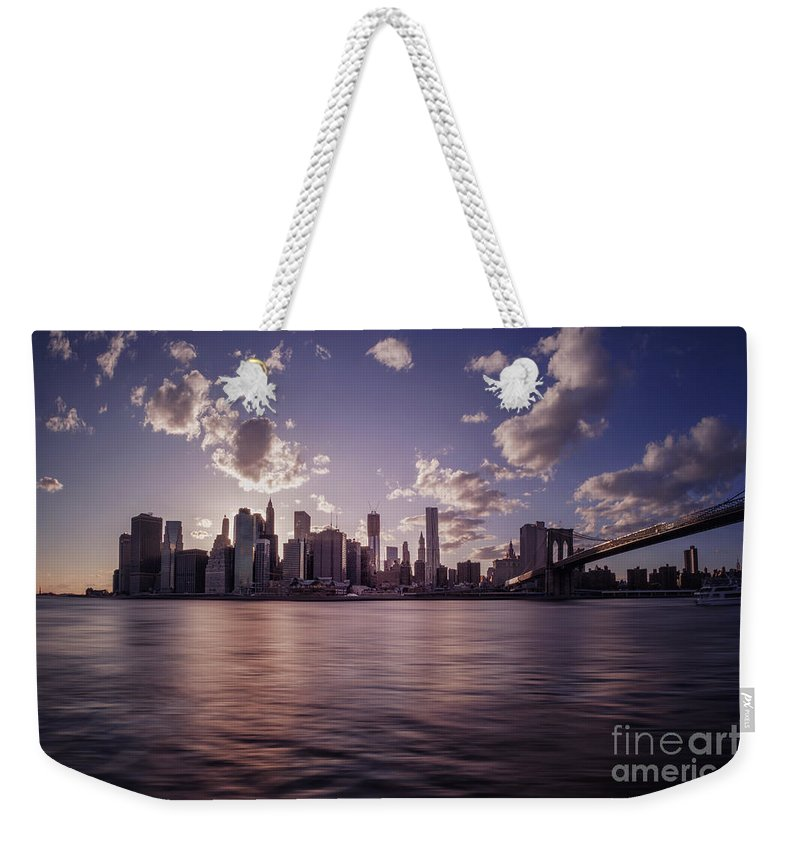 Kremsdorf Weekender Tote Bag featuring the photograph To Reign In Dusk by Evelina Kremsdorf
