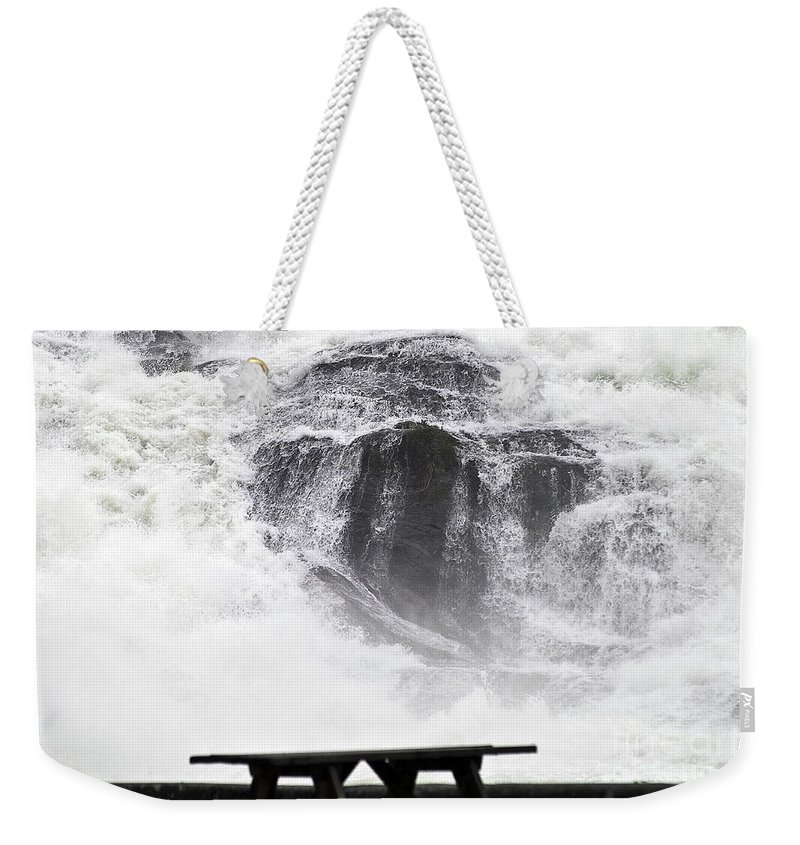 Heiko Weekender Tote Bag featuring the photograph To Replenish Engergy by Heiko Koehrer-Wagner