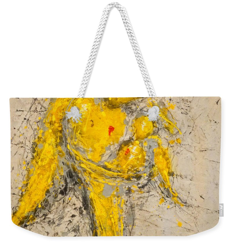 Madonna And Child Weekender Tote Bag featuring the painting To See Is To Love And To Love Is To Live by Giorgio Tuscani