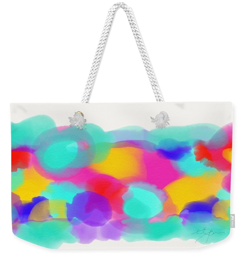 Painting Weekender Tote Bag featuring the painting To The Sea by Cristina Stefan