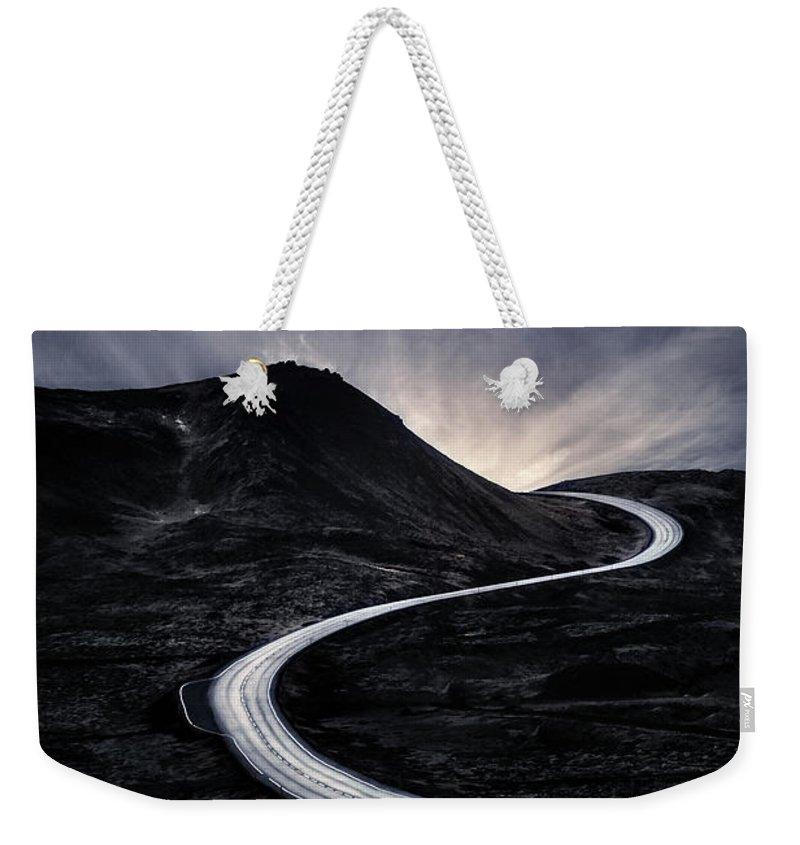 Reykjanes Weekender Tote Bags
