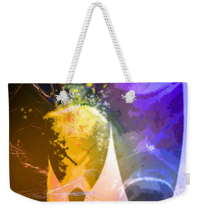 Fantasy Weekender Tote Bag featuring the photograph Together Again by Miki De Goodaboom