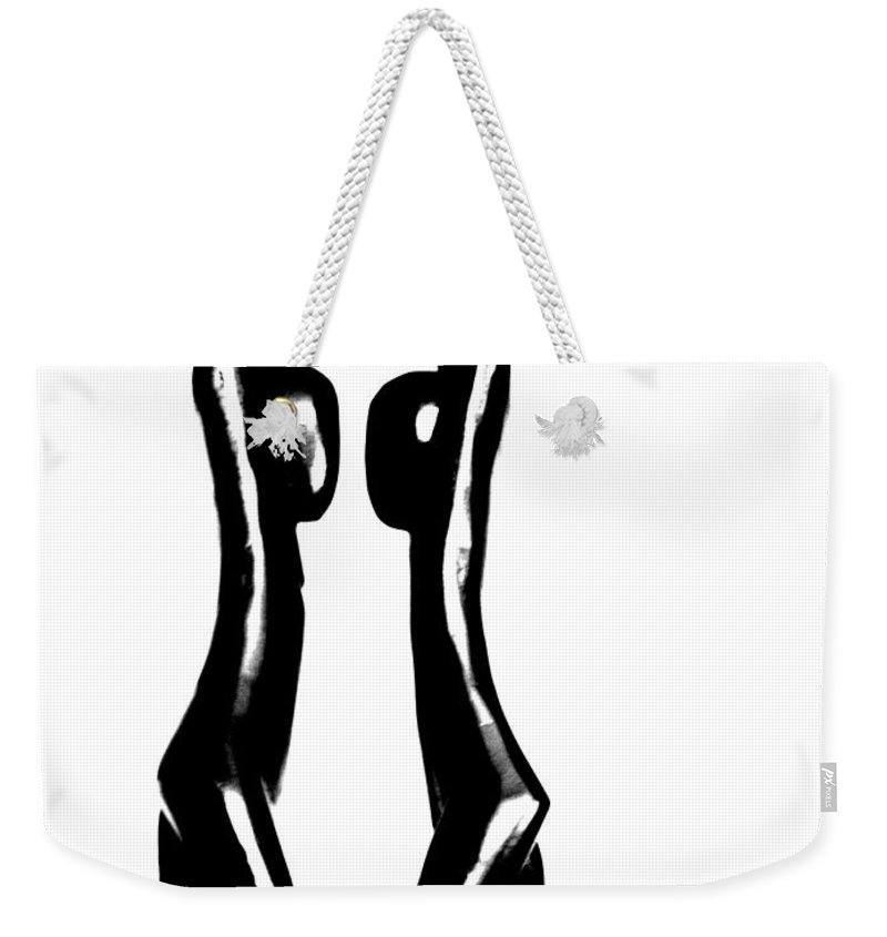 Couple Weekender Tote Bag featuring the photograph Together by Amanda Barcon