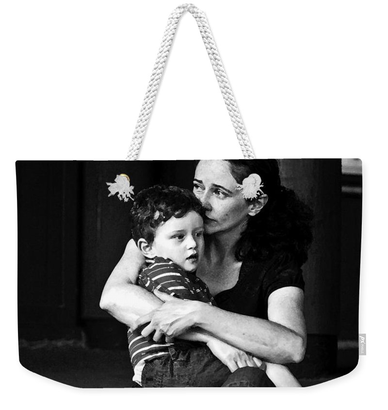 Together Weekender Tote Bag featuring the photograph Together by Mike Reid