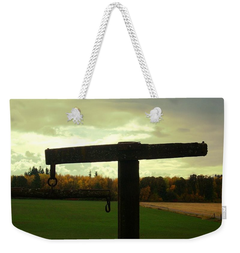 Field Weekender Tote Bag featuring the photograph Tom's 2 by Sara Stevenson