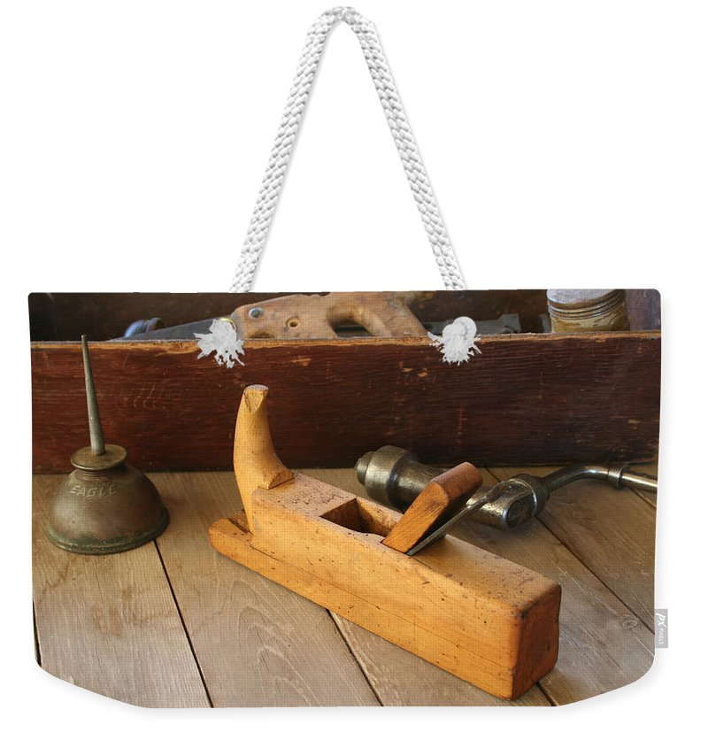 Tool Weekender Tote Bag featuring the photograph Tools by Marna Edwards Flavell