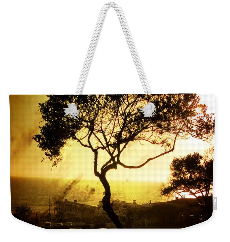 Tree Weekender Tote Bag featuring the photograph Top Of The Hill by Scott Pellegrin