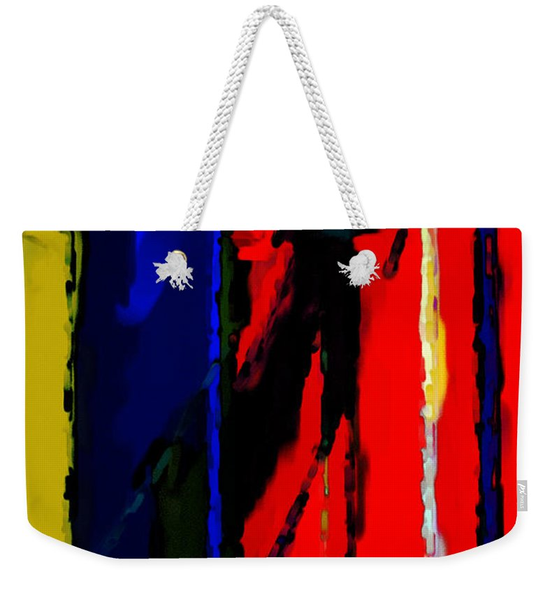 Torment Weekender Tote Bag featuring the digital art Torment by Richard Rizzo