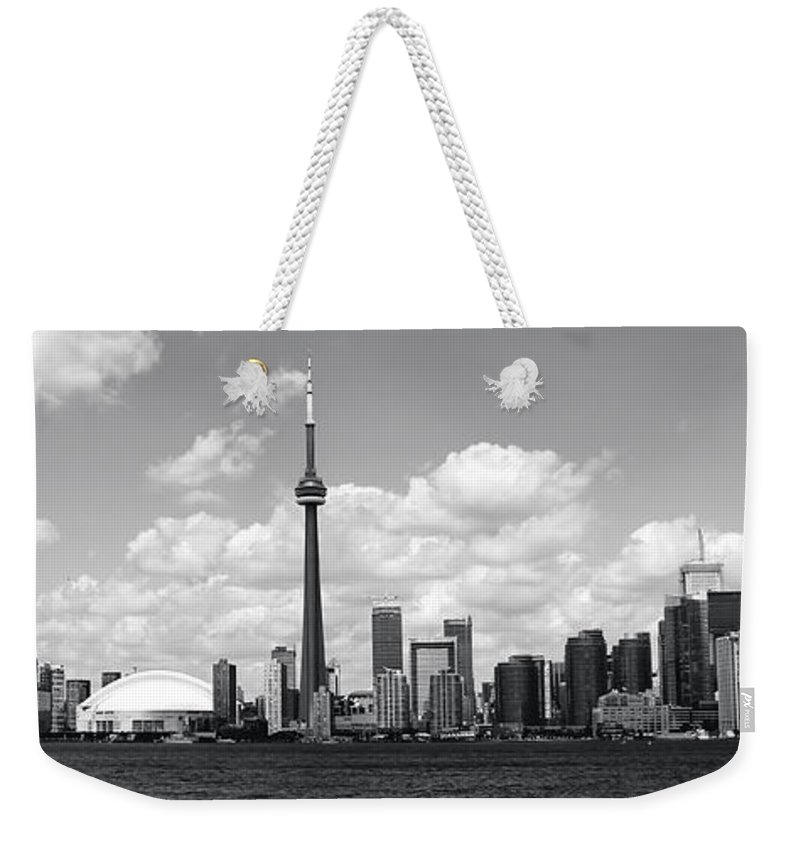 Toronto Skyline Weekender Tote Bag featuring the photograph Toronto Skyline 11 by Andrew Fare
