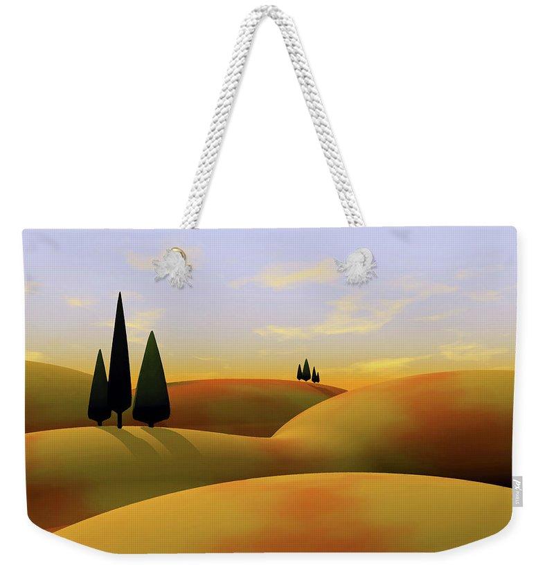 Hills Weekender Tote Bags