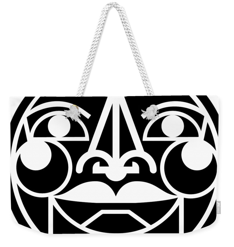 Extrovert Weekender Tote Bag featuring the digital art Totalextrovert by Tm