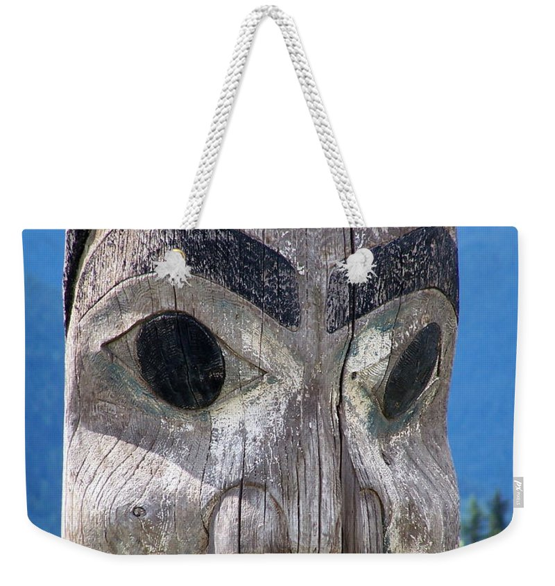 Totem Weekender Tote Bag featuring the photograph Totem by Marty Koch