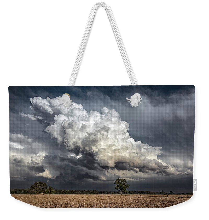 Maryland Weekender Tote Bag featuring the photograph Touch The Sky by Robert Fawcett