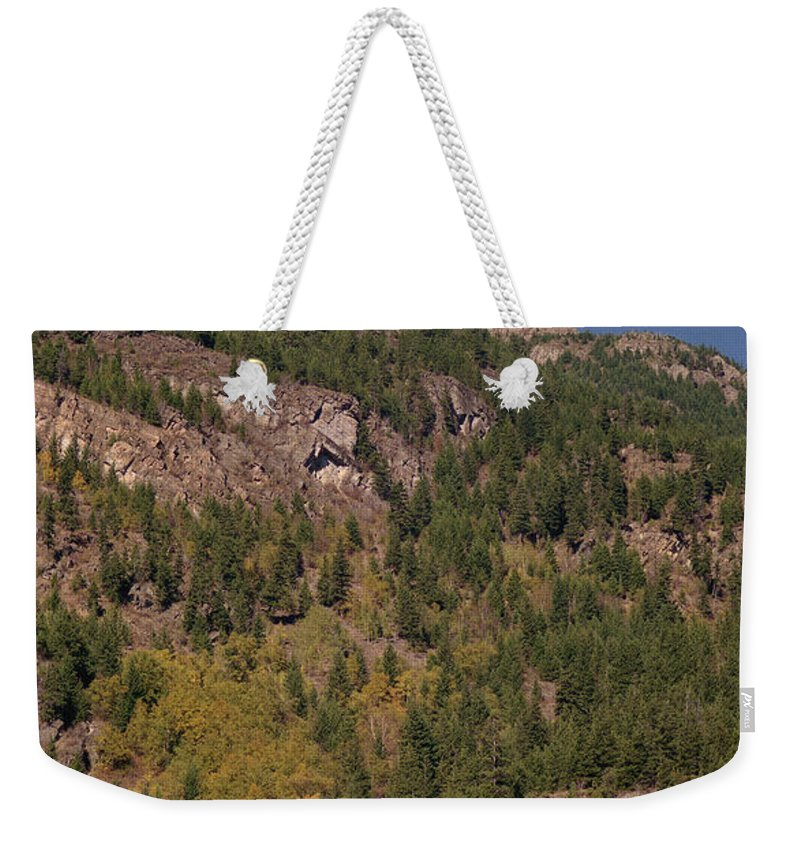 Mountains Weekender Tote Bag featuring the photograph Touching The Clouds by Richard Rizzo