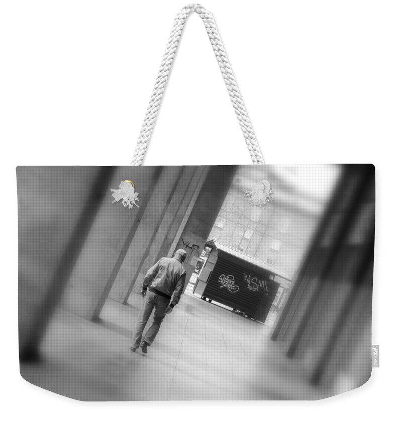 End Weekender Tote Bag featuring the photograph Towards The End by Valentino Visentini