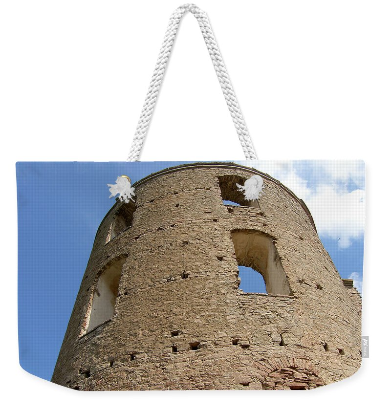 Castle Weekender Tote Bag featuring the photograph Tower by Are Lund
