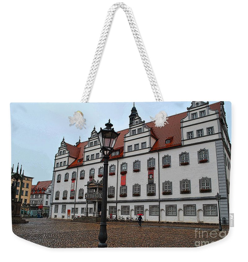 Wittenberg Weekender Tote Bag featuring the photograph Town Hall by Jost Houk