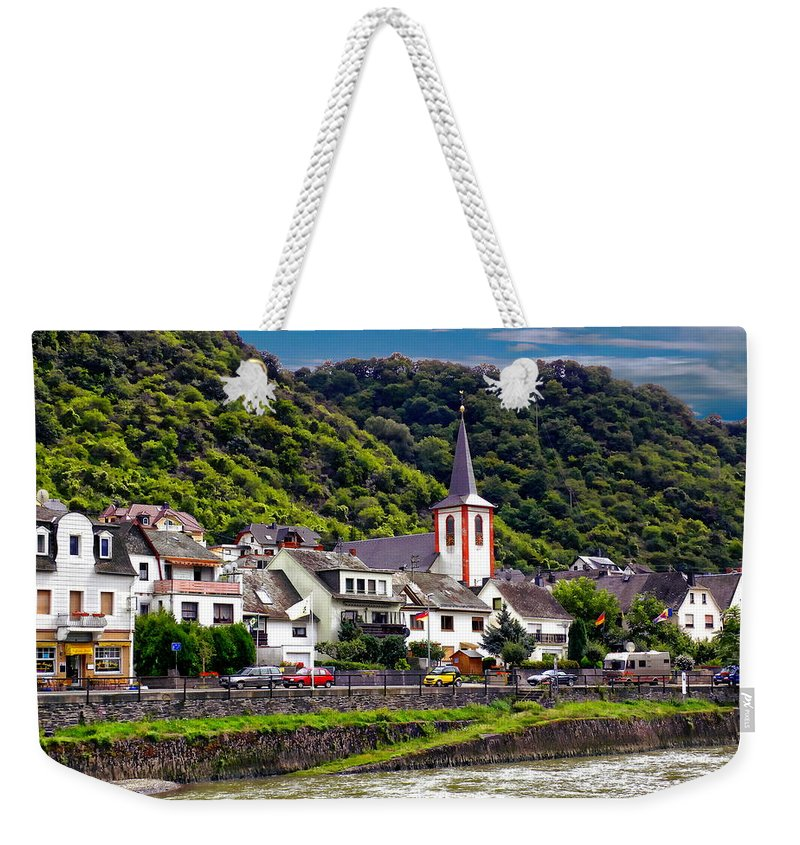 Kestert Weekender Tote Bag featuring the photograph Town Of Kestert by Anthony Dezenzio