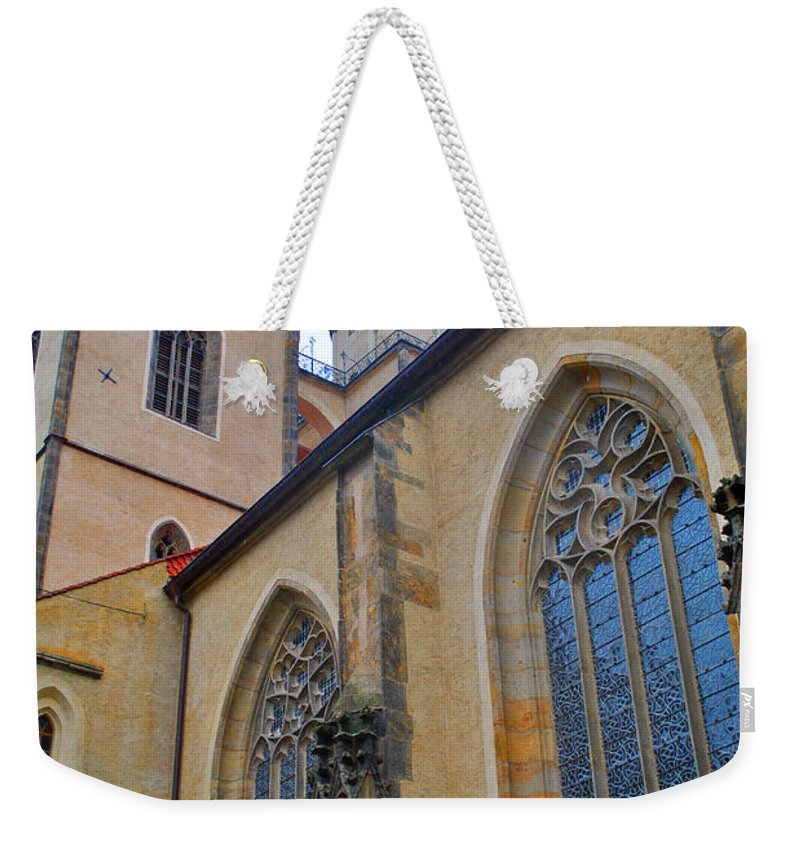 Wittenberg Weekender Tote Bag featuring the photograph Town Parish Church by Jost Houk