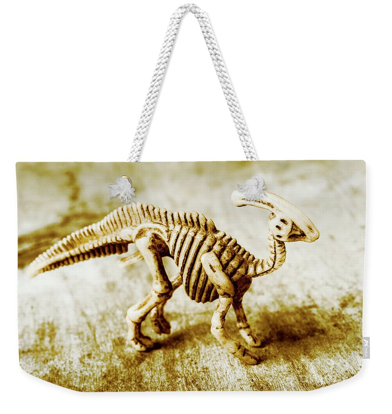 Artefacts Weekender Tote Bag featuring the photograph Toys And Artefacts by Jorgo Photography - Wall Art Gallery