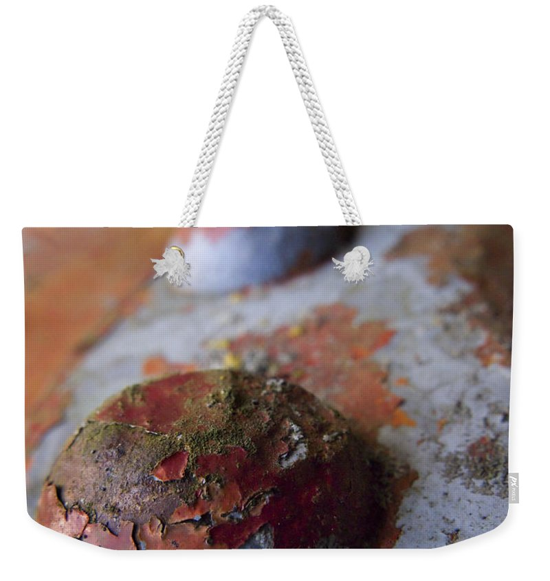 Bolt Weekender Tote Bag featuring the photograph Tractor Island by Jeffery Ball