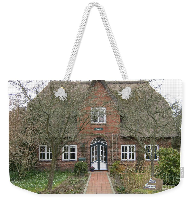 Traditional House Weekender Tote Bag featuring the photograph Traditional House 1 by Heidi Sieber